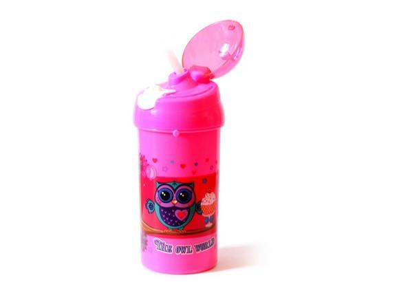Пляшка для води шкільна Kidis 550мл The owl world