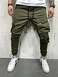 😝 Брюки карго- Мужские штаны карго, фото 4