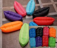 Надувной диван-мешок Lamzac BT-IG-0033 водонепрониц.PE 2 слоя размер 240*70см 8цв.сумка ш.к./20/(BT-IG-0033)