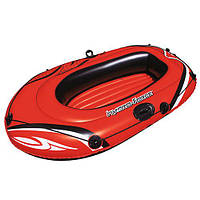 Лодка Hydro Force Raft, 155*93см, надувная, на 1чел, весла, в кор. 24*24*6см, Bestway (6шт) (61099)