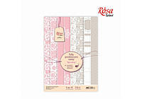 "Набор дизайнерской бумаги ""Love story"", А4, 250г/м2, 8л ROSA Talent"