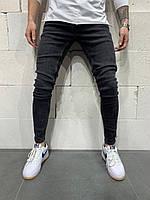 😝 Джинсы - Мужские зауженные джинсы / Топчик