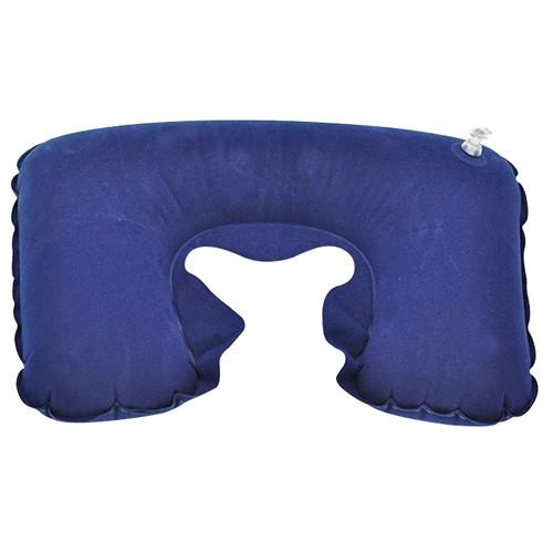 Надувная подушка дорожная U-образная для путешествий