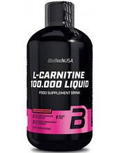 Карнитин L-CARNITINE 100.000 500 мл Вкус: зеленое яблоко