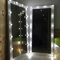 Гримерное зеркало с подсветкой, напольное 1800х800