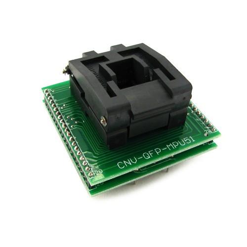 TQFP44 QFP44 PQFP44 - DIP40 переходник панелька