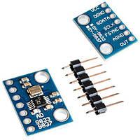 Генератор сигнала синтезатор частот DDS AD9833 для Arduino
