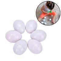 Игрушка сортер развивающая для детей яйца пазлы, 6 штук