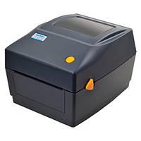 Термопринтер этикеток наклеек штрих-кода Xprinter XP-DT426B XP-460B 112мм, фото 1