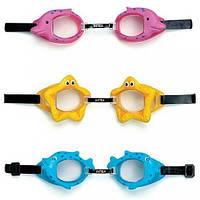 Очки для плавания 3-10 лет 3цв. 55603(55603)