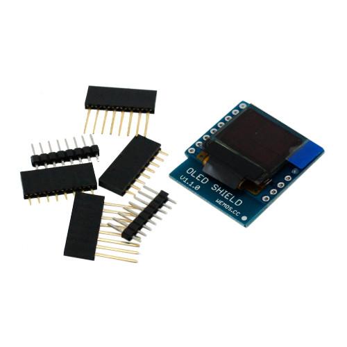 0.66 OLED дисплей 64X48, I2C Wemos D1, D1 mini