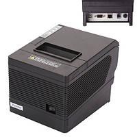 Термопринтер POS чековый принтер USB+LAN с автообрезкой  XP-Q260III 80мм