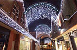 Светодиодная уличная гирлянда занавес, новогодняя led штора 2*3м, фото 4