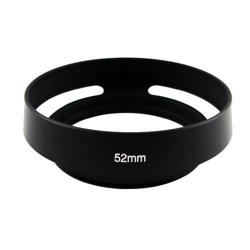 Бленда вентилируемая 52мм, металл, Leica, черная