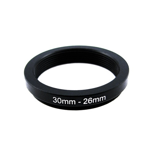 Понижающее степ кольцо 30-26мм для Canon, Nikon