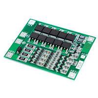 BMS контроллер 4S 40А плата заряда защиты 4x Li-ion 18650 с балансиром