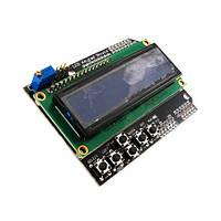 LCD Keypad Shield модуль Arduino 1602 ЖК дисплей, фото 1