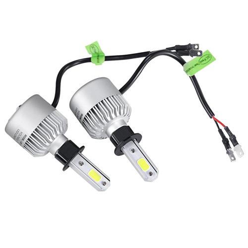 Лампы светодиодные автомобильные Partol S2 H3 PK22S 12В 72Вт 8000лм