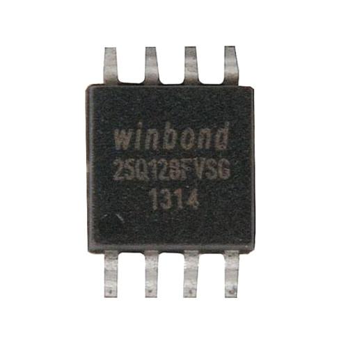 Чип W25Q128 25Q128FVSG SOP8, 128Мб Flash SPI