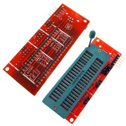 Адаптер ZIF панель 40pin для программаторов PICkit 2 3