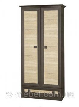 Шкаф-2Д Тристан, венге (Мебель-Сервис)