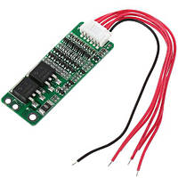BMS контроллер 5S 15А плата заряда защиты 5x Li-ion 18650 18В 21В
