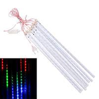 Гирлянда светодиодная новогодняя цветная Таяние Сосулек 8 LED ламп 3.6м
