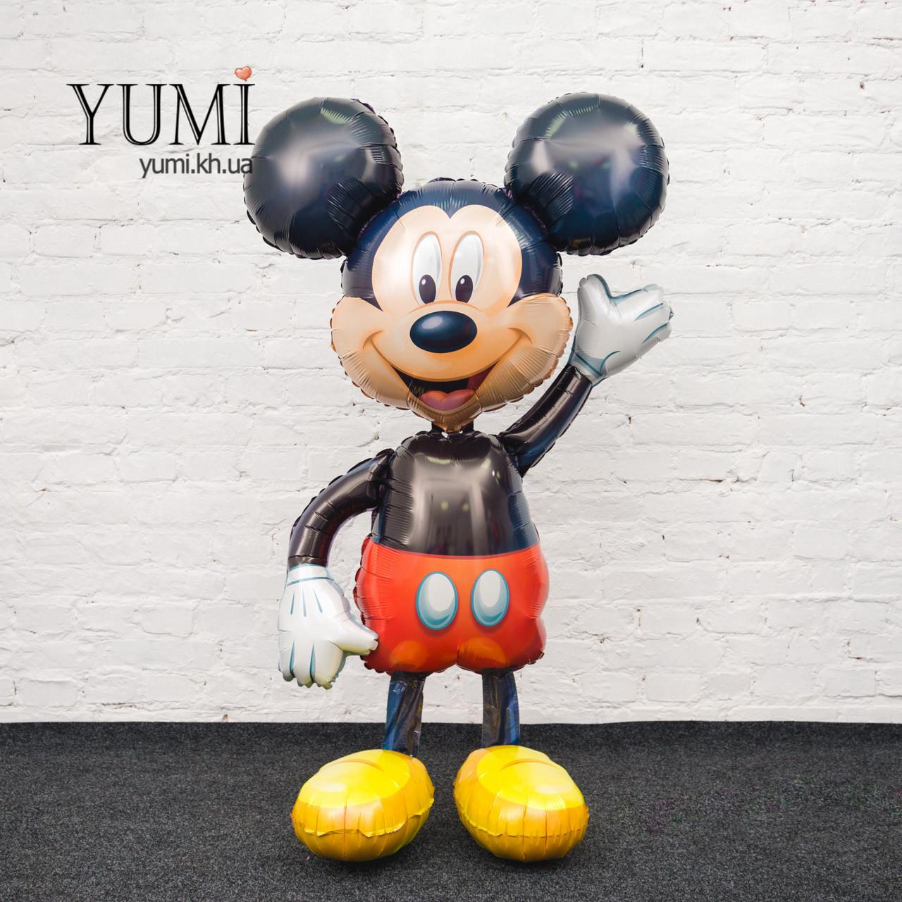 Ходячий шар фигура Микки Маус