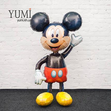 Ходячий шар фигура Микки Маус, фото 2
