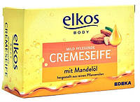 Elkos крем мыло с миндальным маслом 150 гр