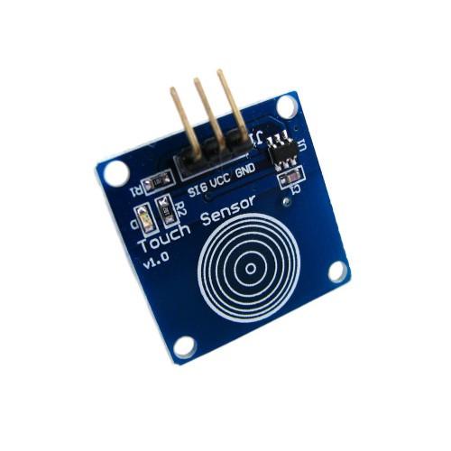Датчик касания, сенсорная кпопка TTP223B, Arduino