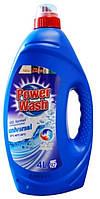 Power Wash гель для  стирки универсальный 4 л