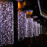Светодиодная уличная гирлянда занавес, новогодняя led штора 2*3м, фото 3