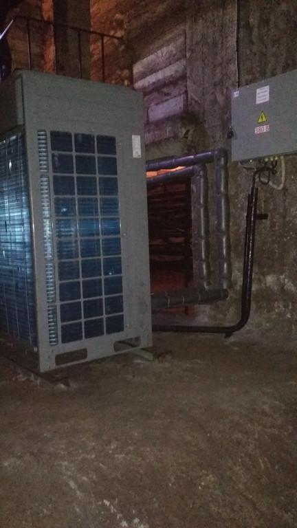 Тепловой насос CH-HP28CMFNM на ст. метро Берестейская в Киеве  2