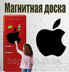Магнітна дошка на холодильник Яблуко (30х35см)