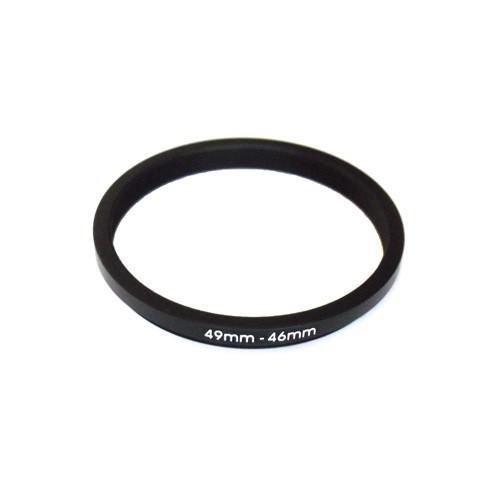 Понижающее степ кольцо 49-46мм для Canon, Nikon