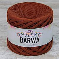 Трикотажная пряжа BARWA standart 7-9 мм, цвет Карамельный миндаль