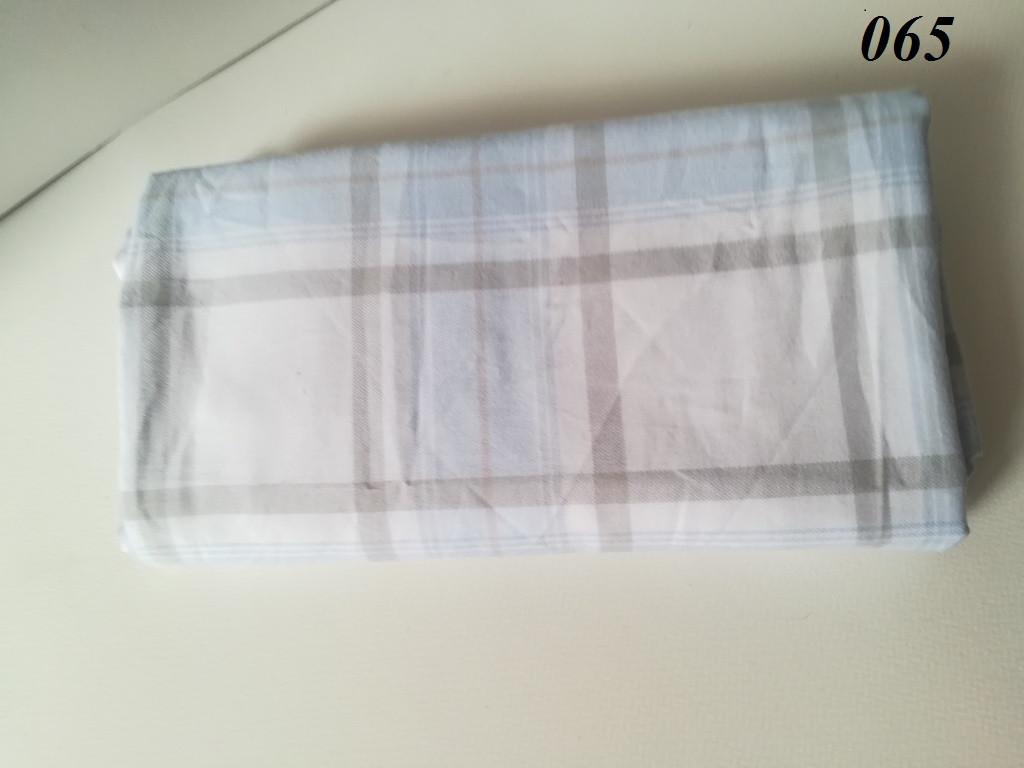 Наволочка из хлопка Клетка 50*70 см, Набор 2 шт. от Sarraf Home, пр-во Турция Голубая клетка
