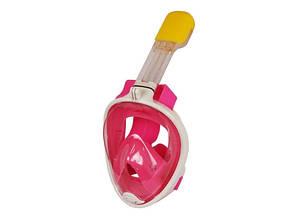 Маска для снорклинга Easybreath розовая