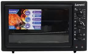 Электрическая духовка Laretti LR - EC 3804 Black