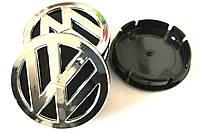 Колпачки в диски Volkswagen (60/55мм,объемные)