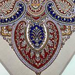 Східна принцеса 1908-2, павлопосадский вовняну хустку з оверлком, фото 4