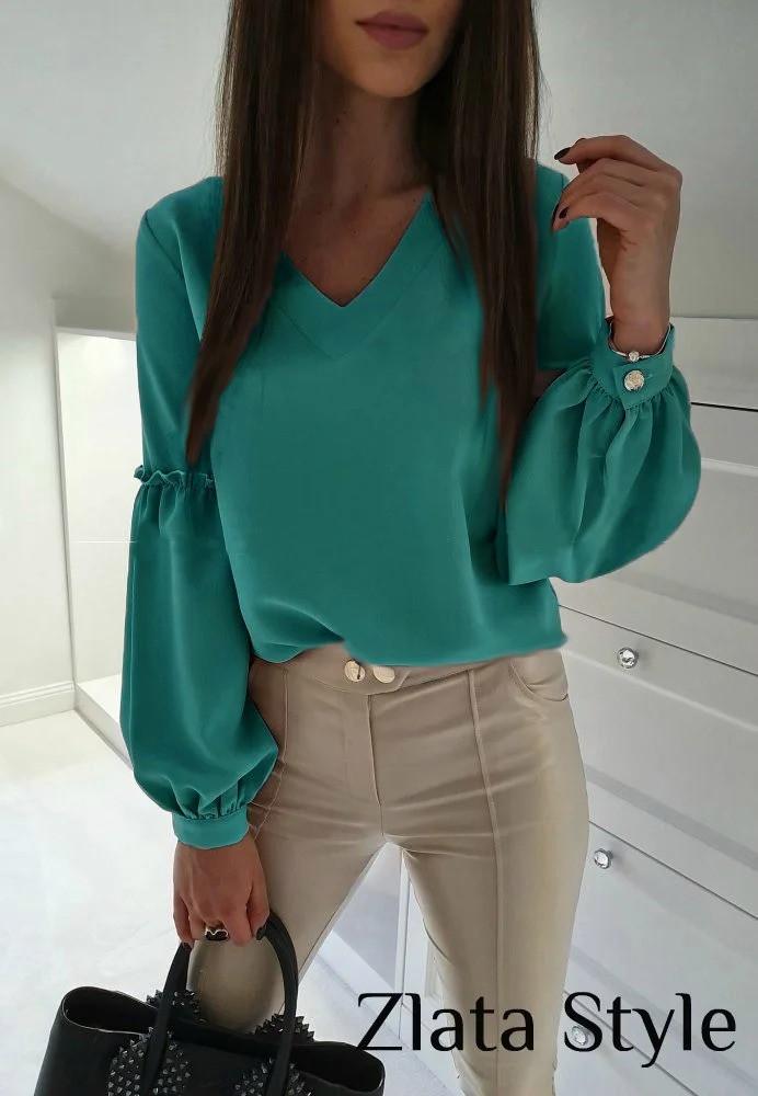 "Блуза с объемным рукавом ""Adel"""