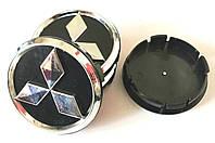 Колпачки в диски Mitsubishi (60/55мм,объемные)