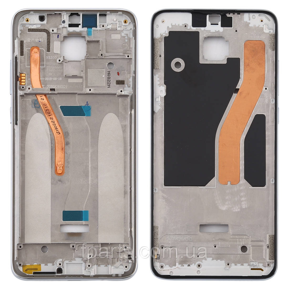 Рамка дисплея Xiaomi Redmi Note 8 Pro, White