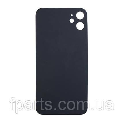 Задняя крышка iPhone 11 (большой вырез под камеру) Black, фото 2