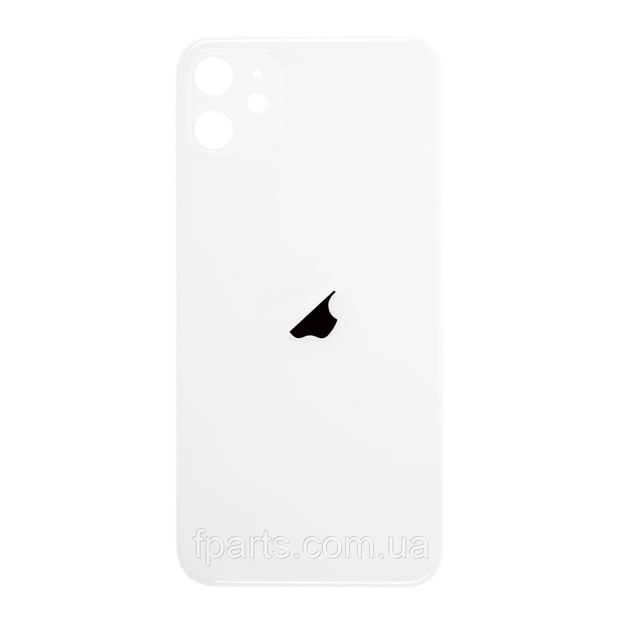 Задняя крышка iPhone 11 (большой вырез под камеру) White