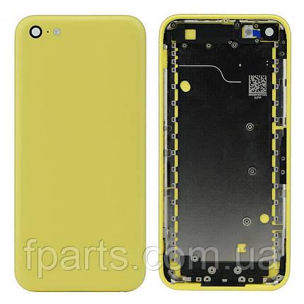 Корпус iPhone 5C, Yellow, фото 2