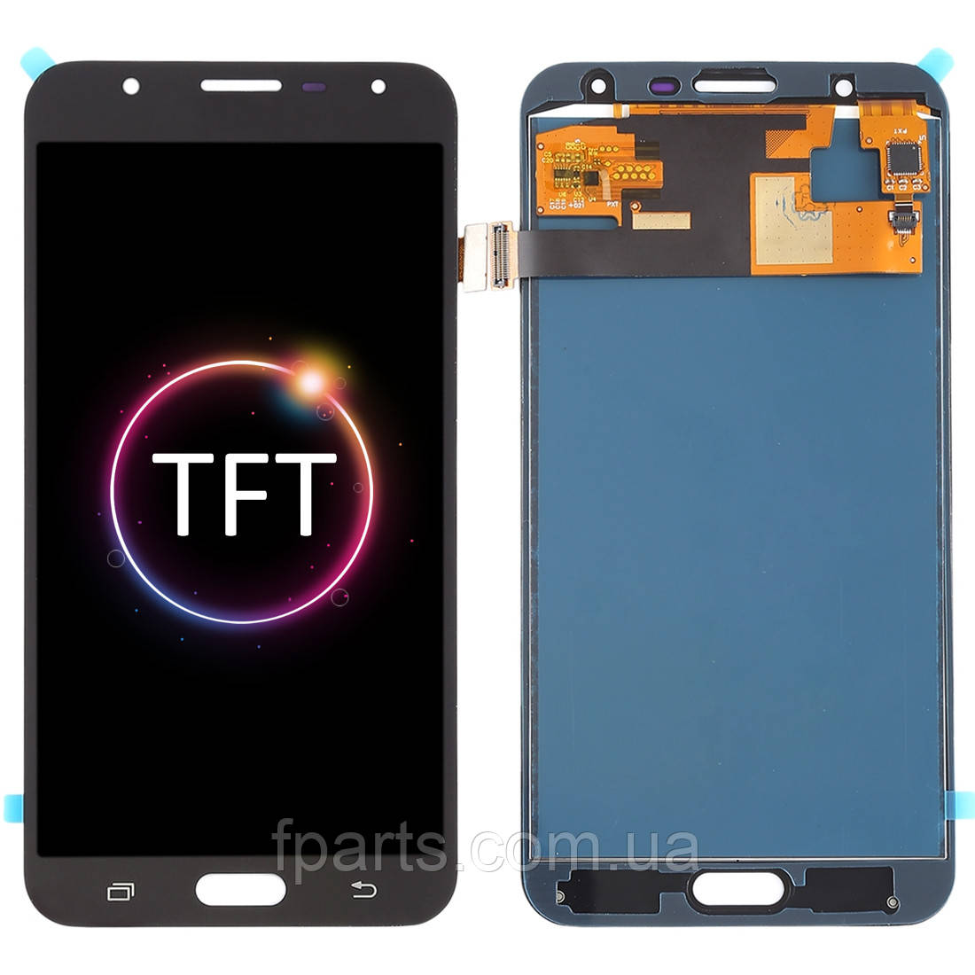 Дисплей для Samsung J701 Galaxy J7 Neo с тачскрином, Black (TFT)