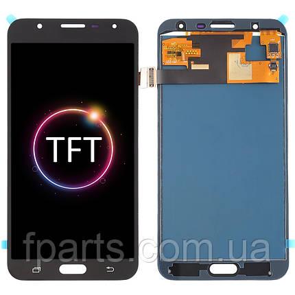 Дисплей для Samsung J701 Galaxy J7 Neo с тачскрином, Black (TFT), фото 2